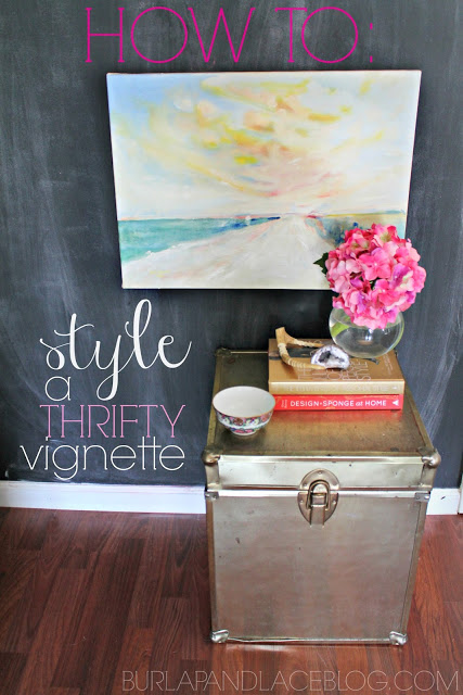 How To Series: Creating a Thrifty Vignette