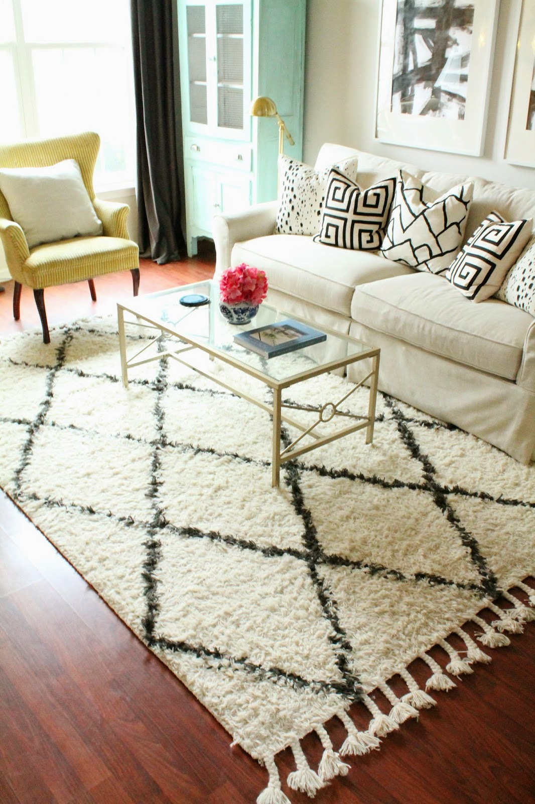 rug update and a review - shannon claire