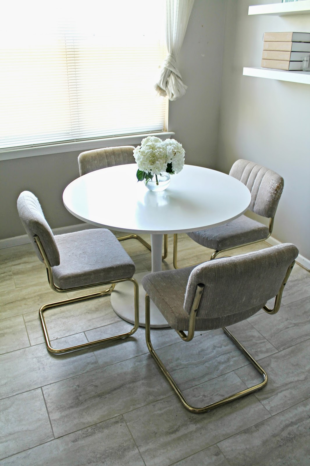 Craigslist Score Kitchen Table and Chairs   Shannon Claire