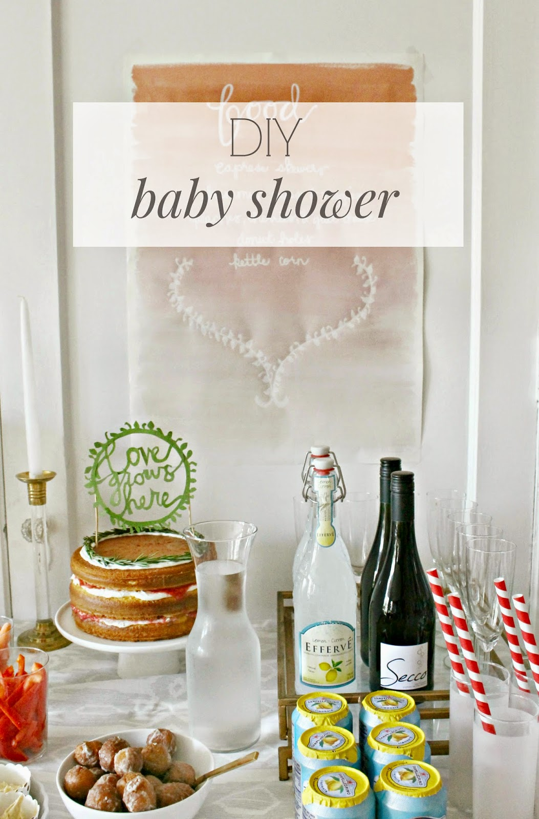 DIY Baby Shower!