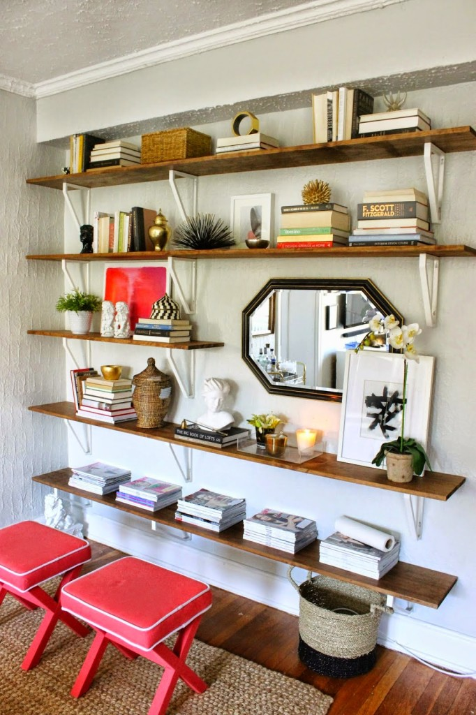 How To: DIY Ikea Hacked Shelving Unit - Shannon Claire