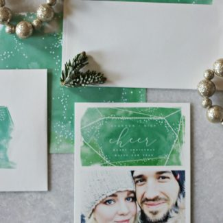Happy New Year + Our Holiday Cards from Minted